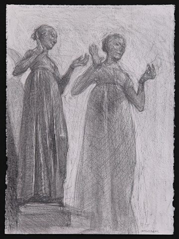 ANNUNCIATION, Matteo Civitali, sculptor, Lucca