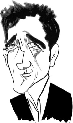 Clive Owen by Tom Bachtell; The New Yorker; Lizzie Widdicombe