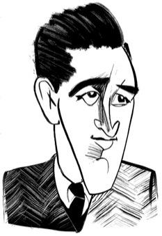 J.D. Salinger by Tom Bachtell; The New Yorker; Adam Gopnik