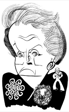 Madeleine Albright by Tom Bachtell; The New Yorker; Lauren Collins