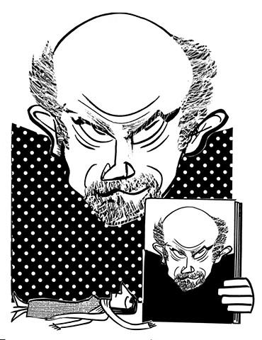 John Malkovich by Tom Bachtell