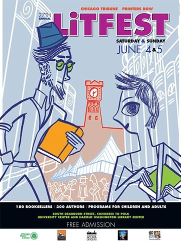 LitFest 2011 Poster