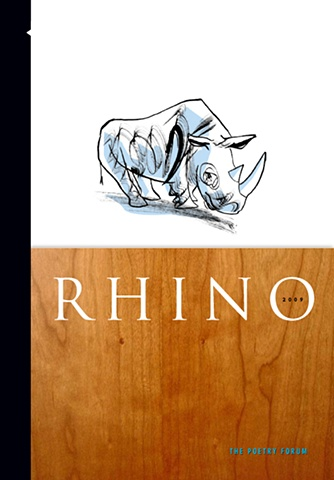 Cover for Rhino Poetry Magazine