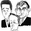 THREE-WAY RACE --- David Cameron, Nick Clegg & Gordon Brown
