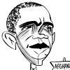 Barack Obama by Tom Bachtell