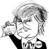 Donald Trump by Tom Bachtell