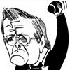 Donald Rumsfeld by Tom Bachtell