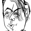 Christopher Hitchens by Tom Bachtell