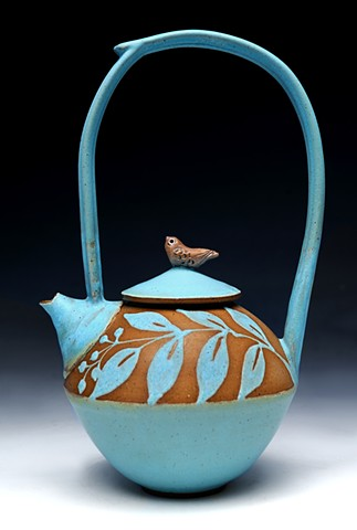 High Handle Teapot