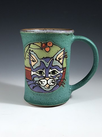 Cat Mug 18-11-05 other side