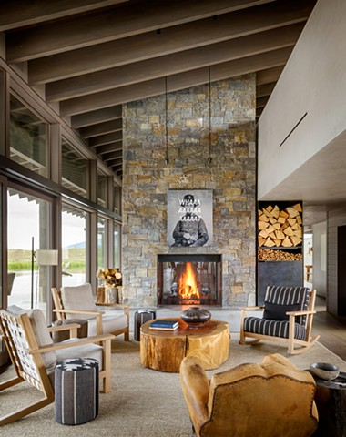 Montana design home by Christian Grevstad Interiors Inc.