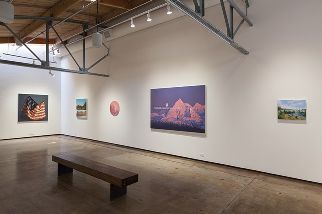"Installation View ""Somewhere To Nowhere"""