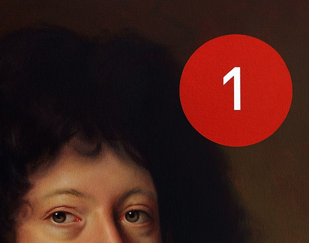 Friedrich Baron von Knabenau: Panic Seven (Red Notification Icon), detail