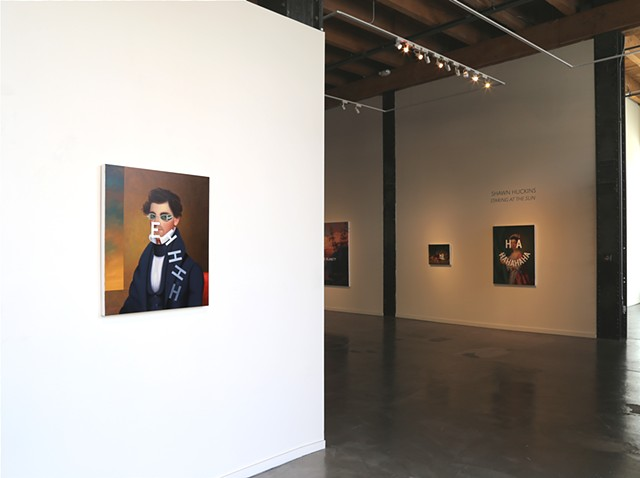 "Installation View ""Staring At The Sun"""