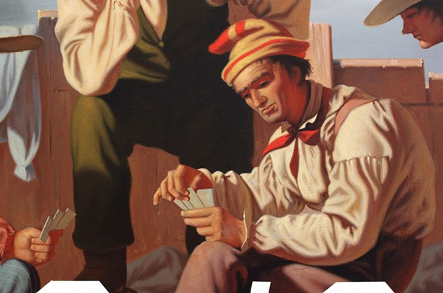 Raftsmen Playing Cards: Everything Is Hilarious And Nothing Is Real, detail