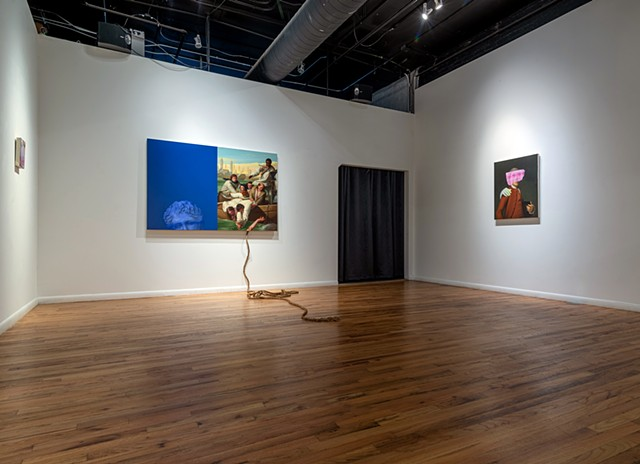 "Installation view ""Fool's Errand"""