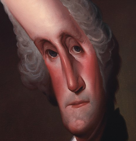 (George Washington), detail