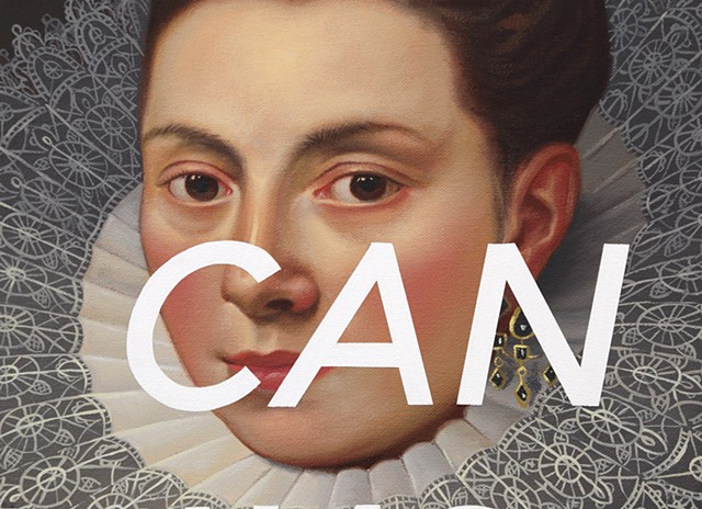Portrait of A Noblewoman: Can You Just?, detail
