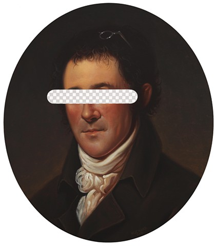 We Kind Of Have A History (Benjamin Henry Latrobe, White House Art Collection Erasure No. 2)