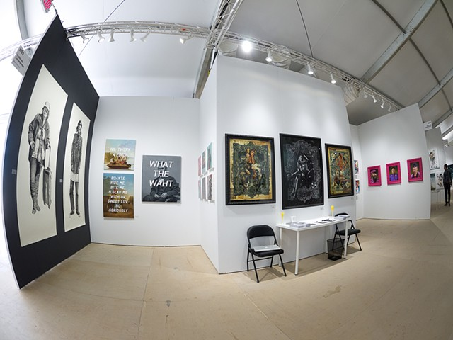 "Installation View ""SCOPE Miami"""