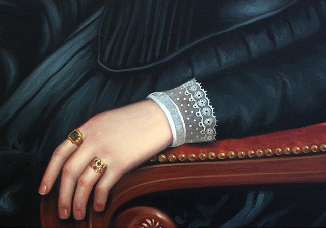 Portrait of Catherine Crouse: Like I Can't Even, detail