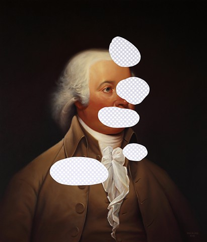 Loneliness Of Leaker (John Adams, White House Art Collection Erasure No. 20)
