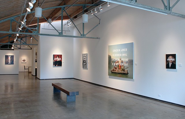 "Installation View ""The American __tier"""