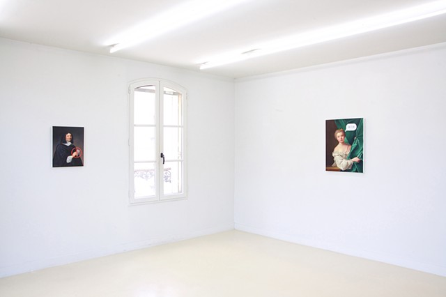 Installation view 'Happy Go Lucky'