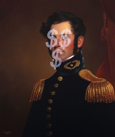Follow The Money: Young Robert E. Lee (Based On Money Face Emoji)