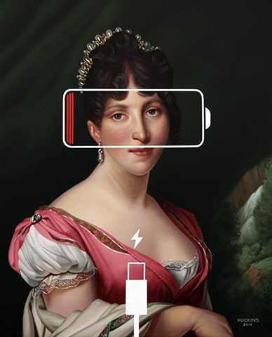 Hortense de Beauharnais: Panic Eight (Charging Battery)