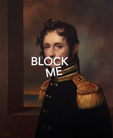 Portrait of A Young Gentleman: Block Me