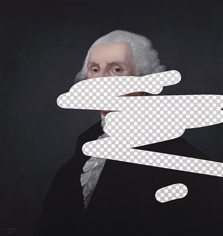 George Washington (Erasure No. 1)