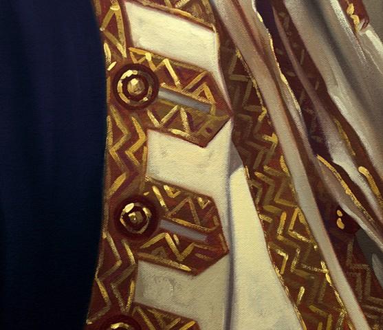 Admiral Sir Chaloner Ogle: Mood., detail