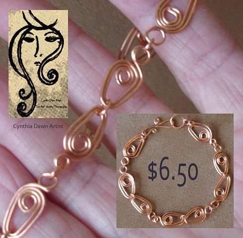 Simplistic Elegance - in copper