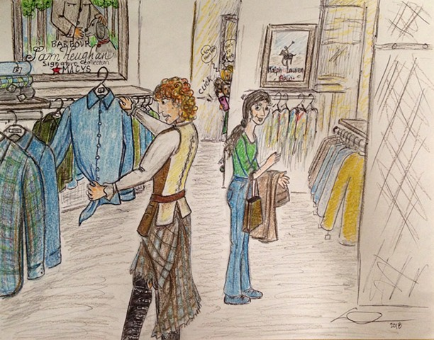 """Shopping with James Fraser"""