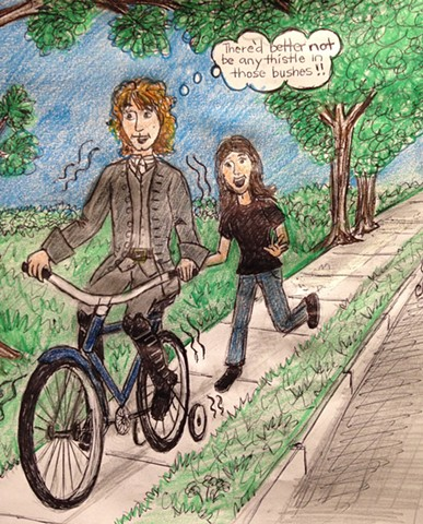 """Jamie's first Bicycle Ride"""