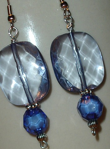 Pools of Blue earrings