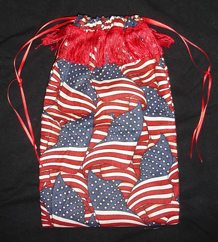 Star Spangled Banner tote - Red
