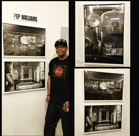 Pep Williams featured at PhotoLA 2016.