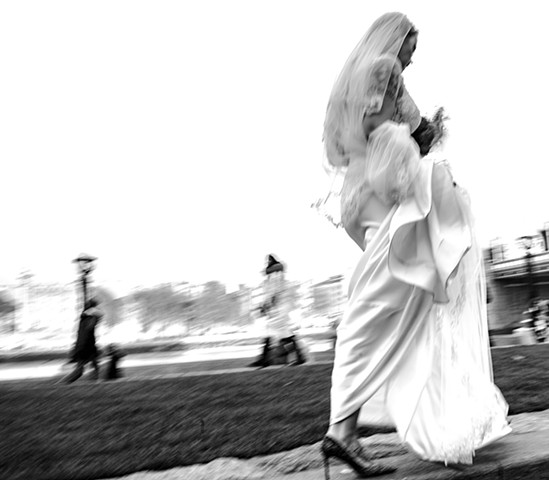 Wedding day (London)