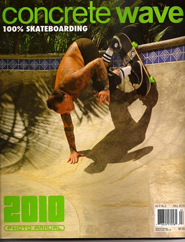 "Concrete Wave Magazine - ""Jay Adams"" Photo: Pep Williams"