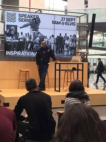 Pep Williams Speaks at Adidas HQ in Germany 2017