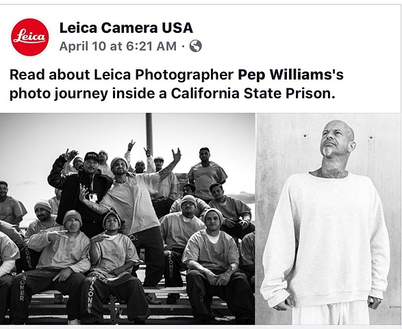 Leica Shares Pep Williams work on PetaPixel