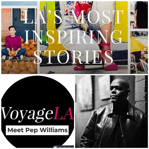 Pep Williams Featured In VoyageLA.
