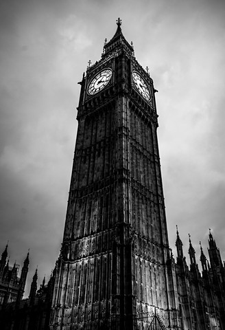 Big Ben - London, England.   Photo: Pep Williams