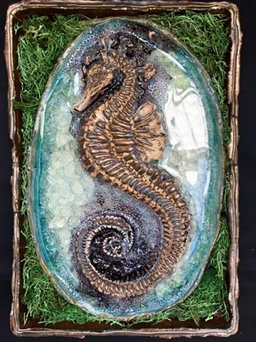 Seahorse Wall Tile