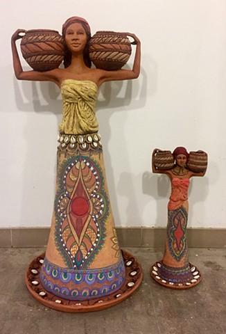 Goddesses (front)