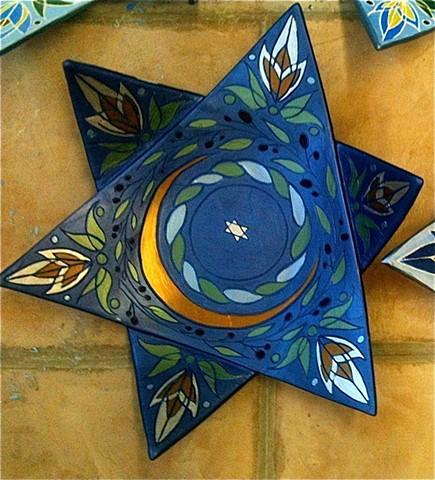 Star Platter Detail