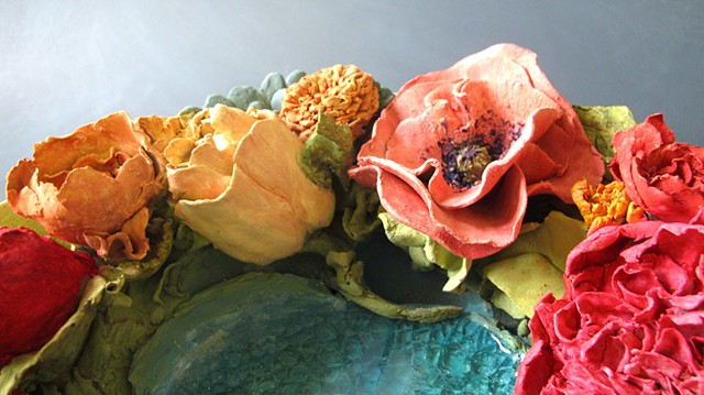 Botanical Bowl Spring detail