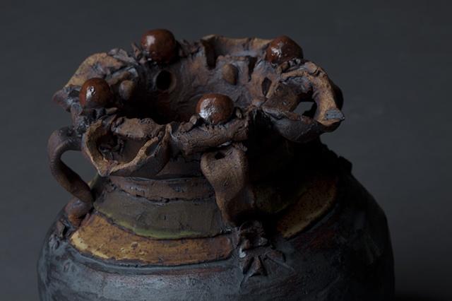 African Pot Detail